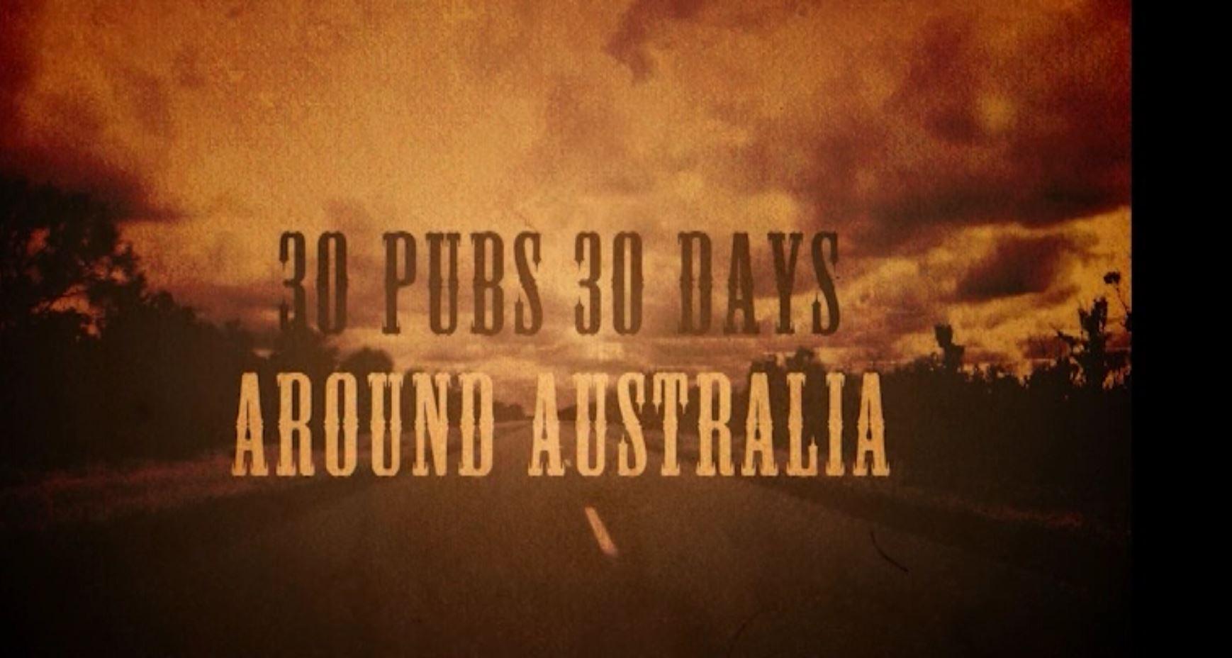 30 Pubs 30 Days Around Australia – Season 1 Episode 4